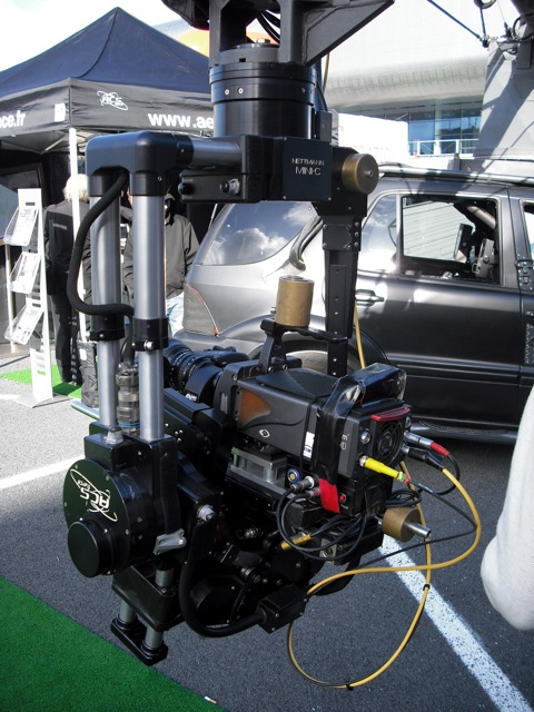 Motion Control Crane on a SUV - 8