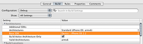 Error compiling for iPhone SDK 2.2
